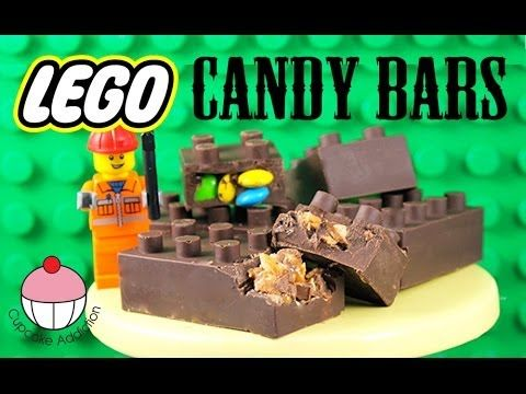 Watch this video to learn how to make LEGO themed chocolate candy bars with My Cupcake Addiction!
