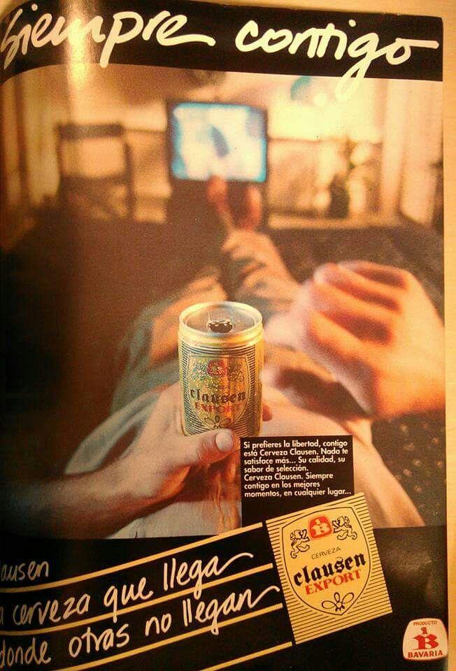 Cerveza clausen 1991