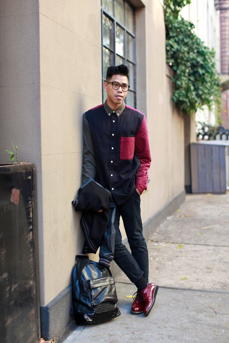 Outfit: Men's Patent Leather Patented I'm like... | Closet Freaks | Menswear & Personal Style