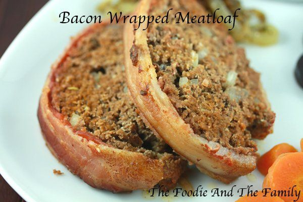 Bacon Wrapped Meatloaf