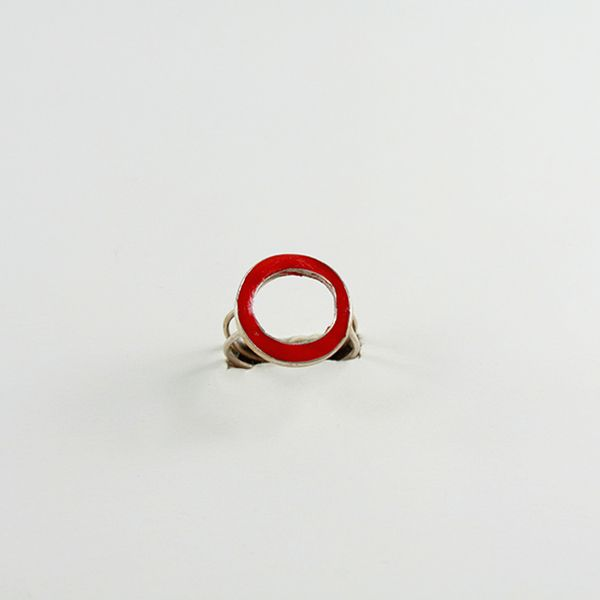 Çember Figürlü Yüzük (Circle Shaped Ring) - ZFRCKC Jewelry Design - www.zfrckc.com