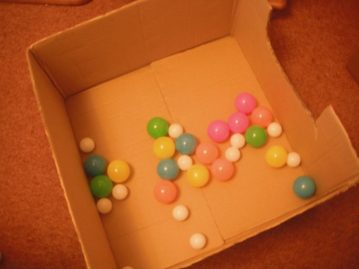 Diy small animal ping pong ball pit great for kittens for Small ping pong balls