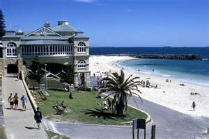 Cottlesloe Beach in Perth WA