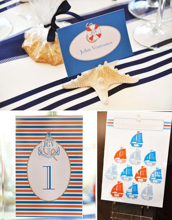 Elegant Nautical Christening // Hostess with the Mostess®