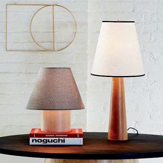who makes west elm furniture. from west elm a play in proportions this table lamp is no exception its short stature makes who furniture w