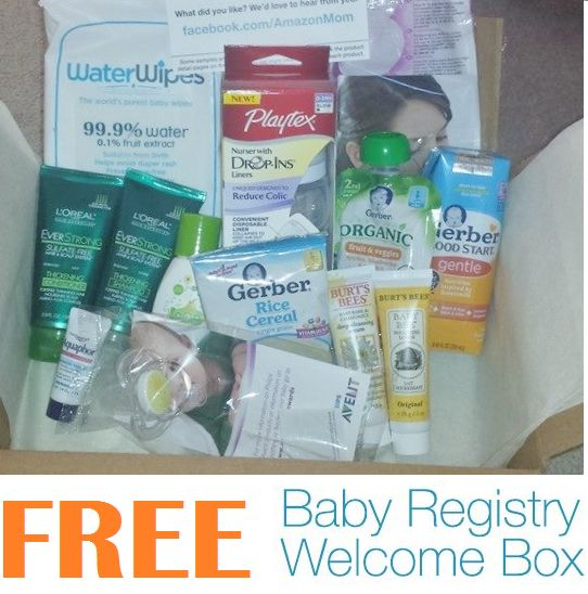 Coupons And Freebies: Free Baby Welcome Box Full of Free Products For Babies and Parents For Amazon Mom Members. Includes Gerber Baby Good Samples, Aquaphor, L'Oreal Shampoo and Conditioner, Burt's Bees Lip Products, Creams, Avent Pacifier, Playtex Baby Bottle, Water Wipes & More!