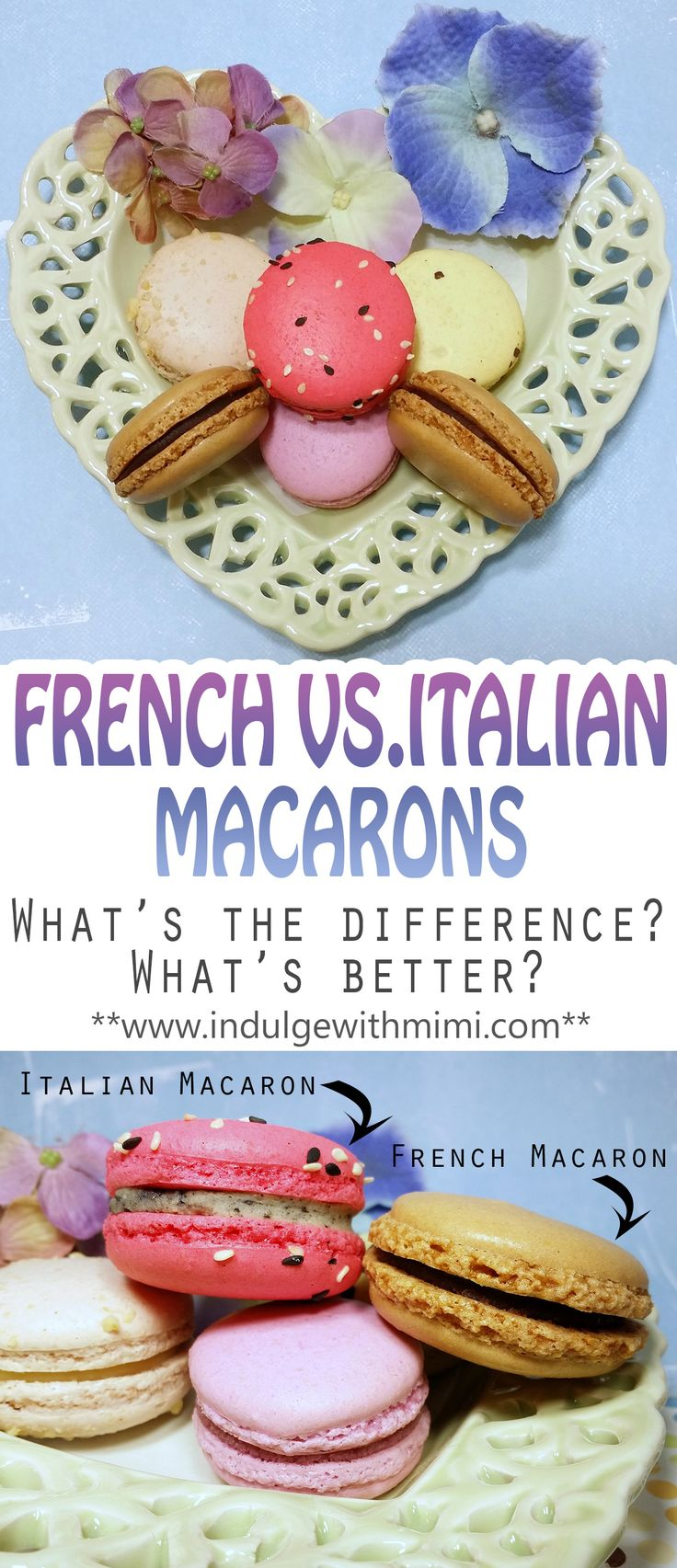 What's the difference between French and Italian method macarons and which method should you use?
