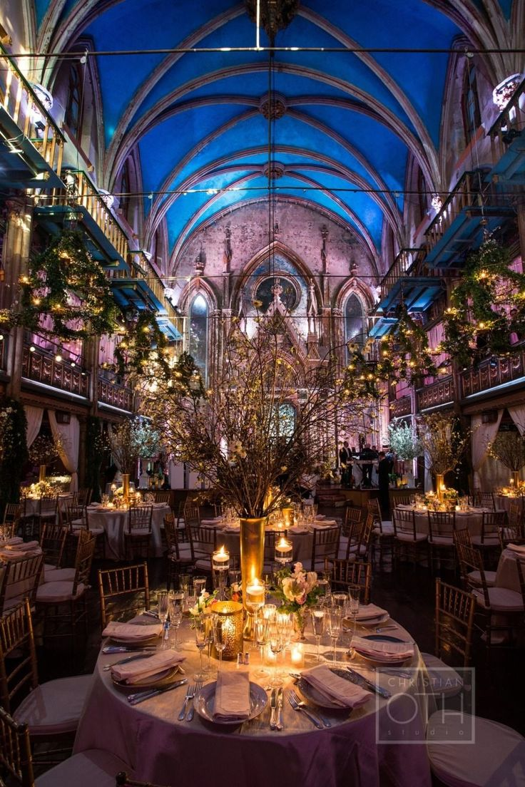 wedding reception idea; photo: Christian Oth Studio