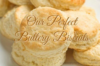"""Our Perfect Buttery Biscuits A warm biscuit with melted butter is probably one of my favourite indulgences. Do you know how to make flaky and tall biscuits? Well, besides the cold butter, you need layers...it is all in how you roll it out. Here is my recipe for the Best Buttery Biscuits you will ever … Continue reading """"Our Perfect Buttery Biscuits"""""""