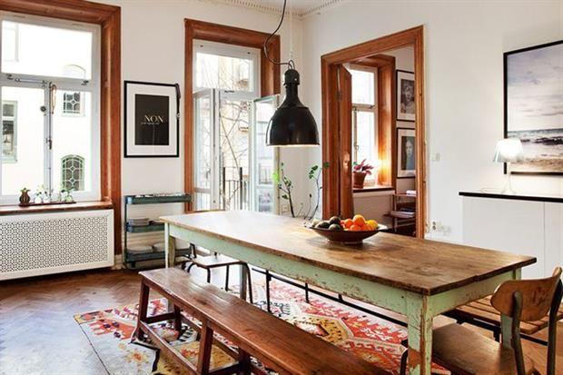 Comedor diario decoraci n estilo r stico comedores y for Comedor diario decoracion