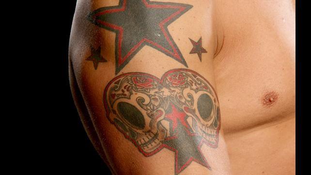 edge 39 s right arm tattoos edge adam copeland