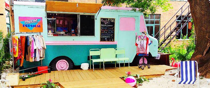 Playa Del Popsical Food Truck 809 Bank St.