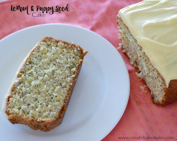 Easy Lemon and Poppy Seed Cake