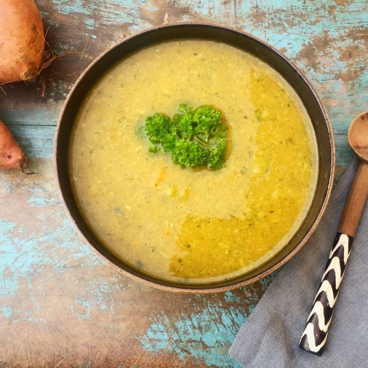 Cozy Winter Soup - The Green Happiness