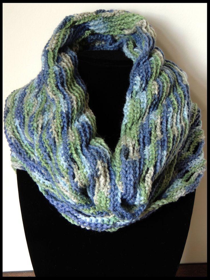 Bufanda circular en crochet