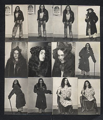 genesis p-orridge, 1975...
