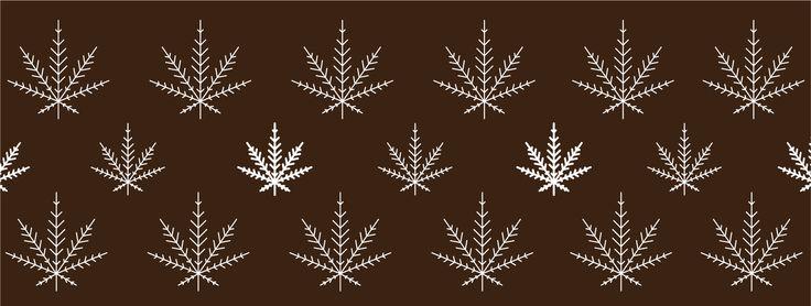 winter, weed, marijuana, snow, snowflake