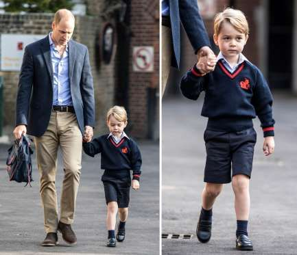 Prince George - He's known to the world as 'Prince George' but the young royal will have to adopt an official surname when he starts school in September - and royal pundits are debating which one he'll opt for.The third-in-line to the throne, who celebrated his fourth birthday yesterday, will need a surname for the school register and there's two possible monikers: Cambridge or Mountbatten-Windsor.Technically, because his great-grandmother is the Queen, he has the title of 'His Royal…