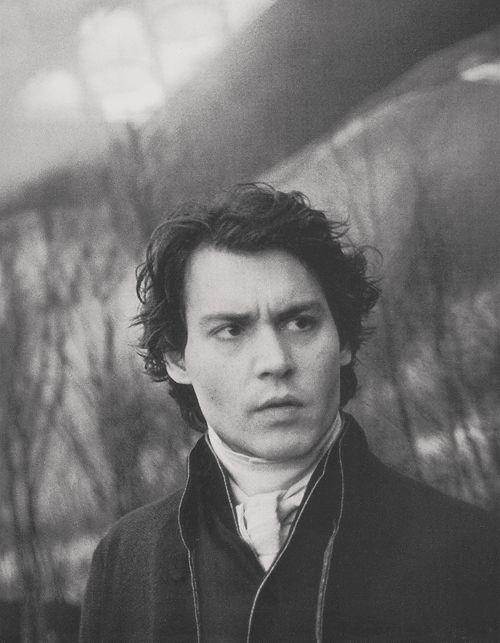 Johnny Depp in Sleepy Hollow, 1999    I love this movie.