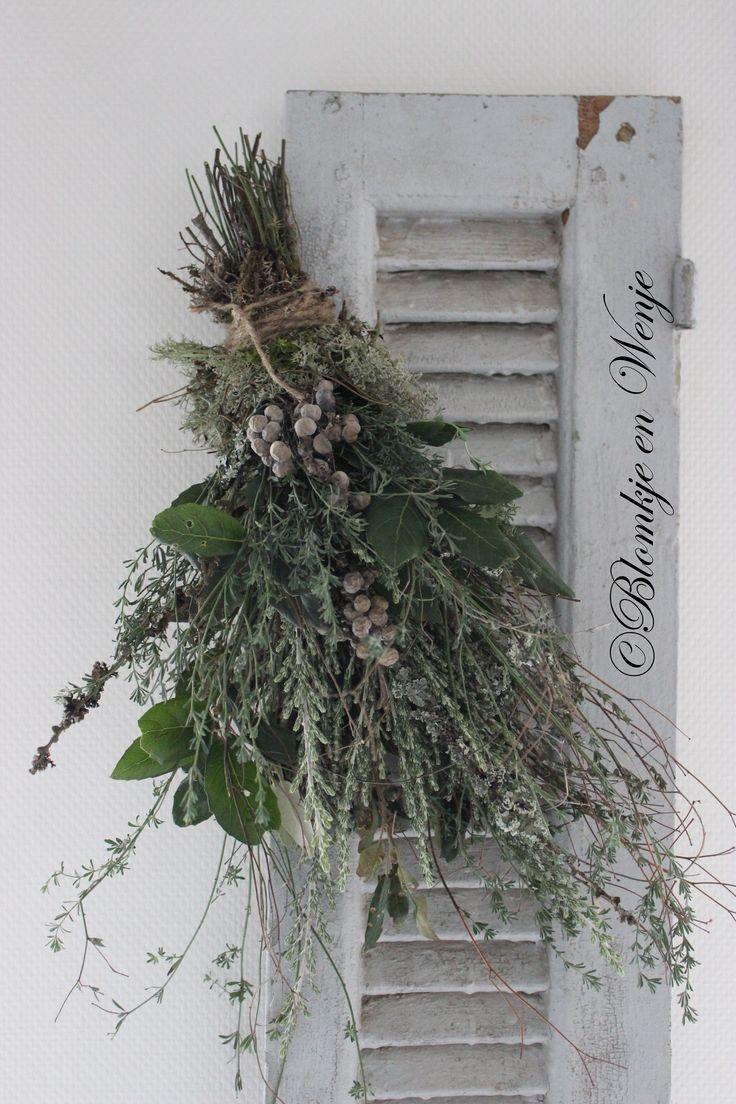guirlande ghirlande festoen toef stoer sober landelijk Blomkje en Wenje