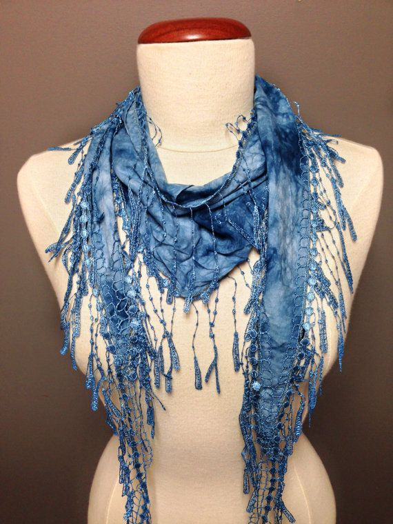 Triangle Tassel Scarf by Knitkozi on Etsy, $18.00 Ships in 1 day! For more selection of these beautiful scarves visit: https://www.etsy.com/ca/shop/Knitkozi?ref=si_shop