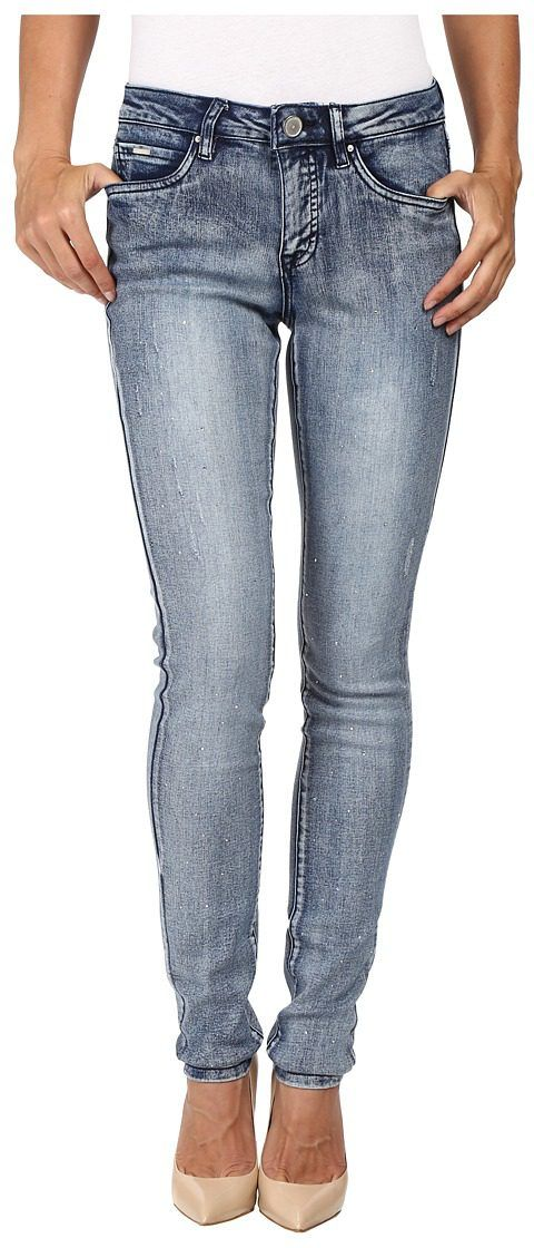 FDJ French Dressing Jeans Olivia Slim with Crystals Jeans in Indigo (Indigo) Women's Jeans - FDJ French Dressing Jeans, Olivia Slim with Crystals Jeans in Indigo, 2506562--420, Apparel Bottom Jeans, Jeans, Bottom, Apparel, Clothes Clothing, Gift, - Street Fashion And Style Ideas