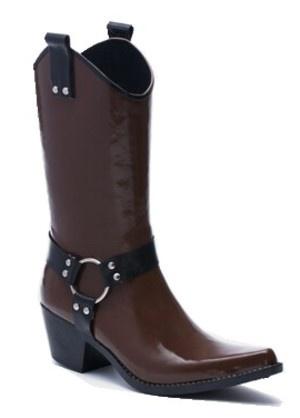 Cowboy rain boots. OMG.