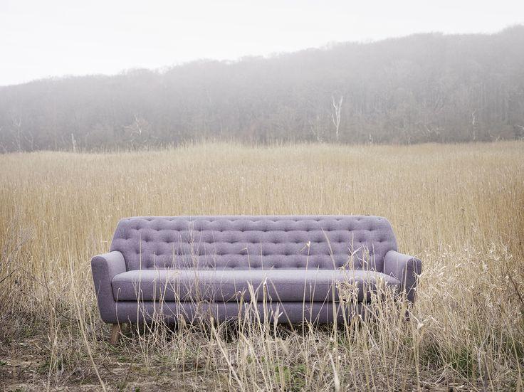 Sally, 3 seater sofa, Hilton heather flower #sofacompany