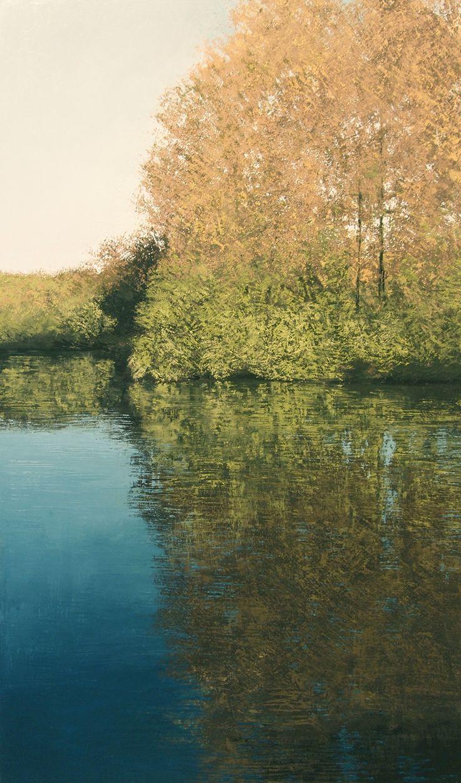 Benoit Trimborn - Regards sur le Paysage. Oil on  canvas