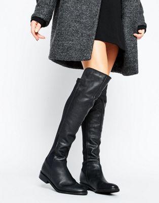 Oasis – Overknee-Stiefel aus Leder