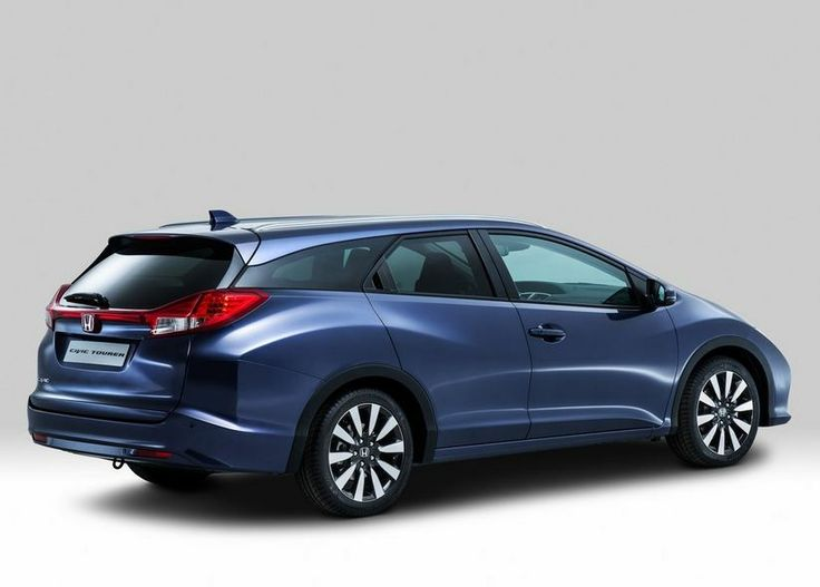 2014 Honda Civic Tourer Rear Side View  Concept car. Available in Europe, not USA