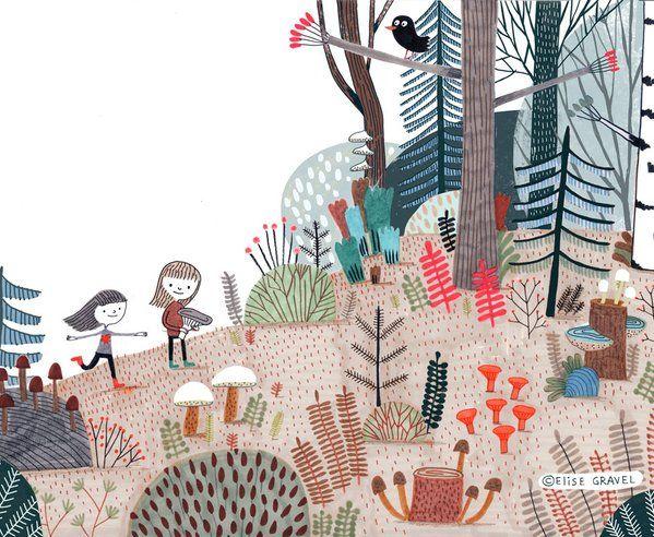 Elise Gravel on Twitter | Tekeningen en illustraties ...