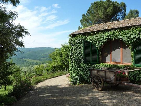 Villa Barone, Tuscany