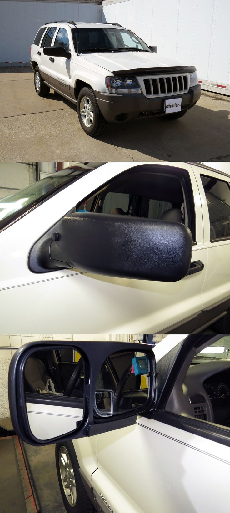 Longview custom towing mirrors for the jeep grand cherokee slip on mirrors that provide additional