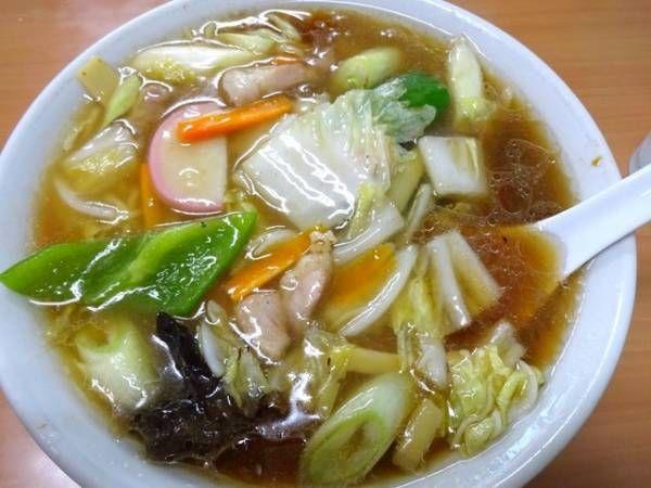 赤羽  中央亭  広東麺