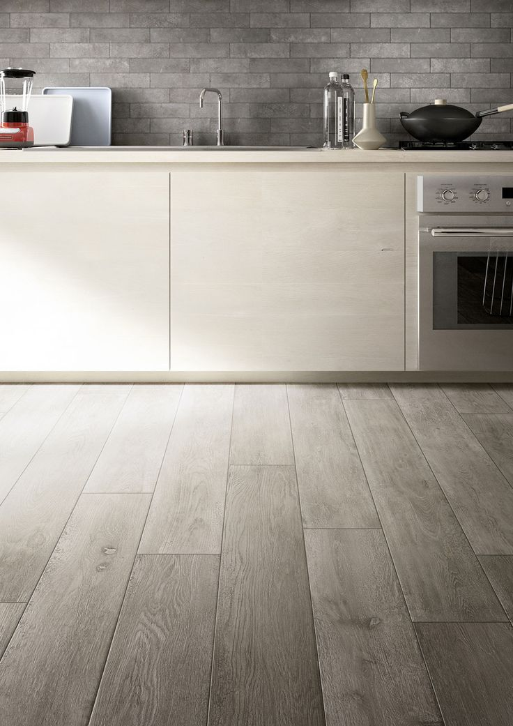 and splashback - Treverktime - Wood effect stoneware floors | Marazzi