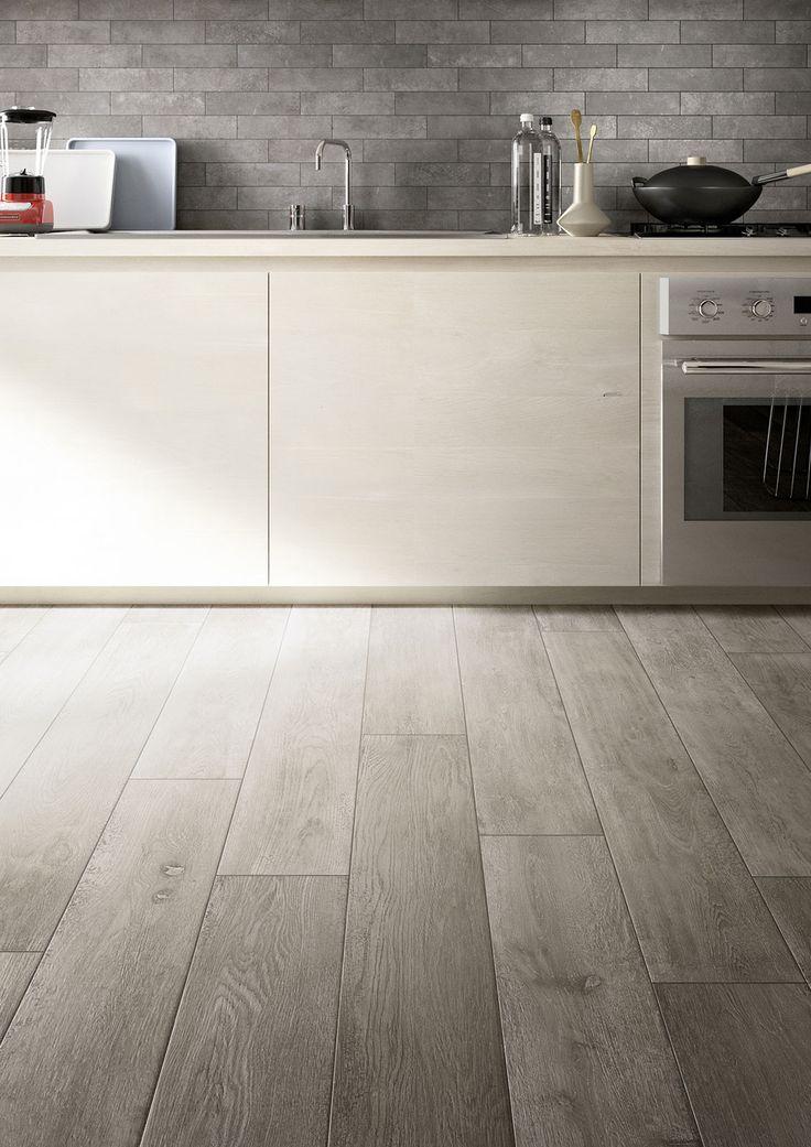 and splashback - Treverktime - Wood effect stoneware floors | Marazzi
