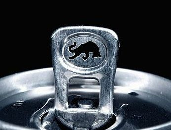 50 Red Bull Energy tabs in silver by CrankyFatFeminist on Etsy