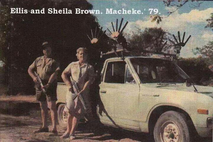 Rhodesian Bush War. Brave people
