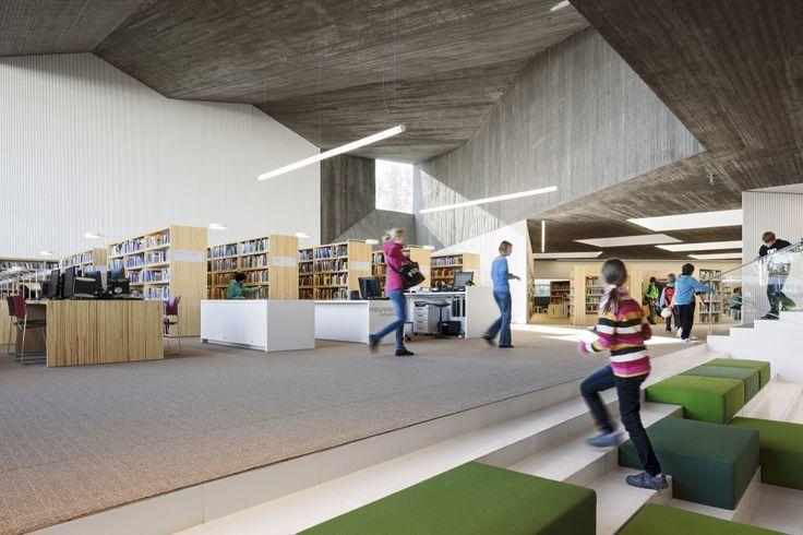 City Library in Seinäjoki, Seinäjoki, Finland - JKMM Architects