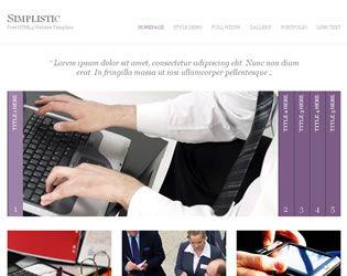 Simplistic Website Template Web Site Design Arizona| #WebDesignArizona #webdesign #Website
