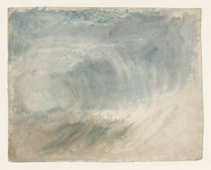Joseph Mallord William Turner, Storm at Sea, 1820-30