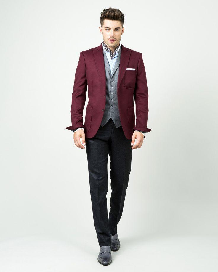Veste costume homme coloree