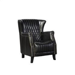 9117101B in by Furniture Classics in East Hanover, NJ - Black Leather Paris Flea Market Chair