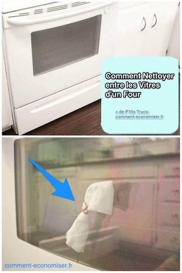 Comment nettoyer les vitres du four facilement