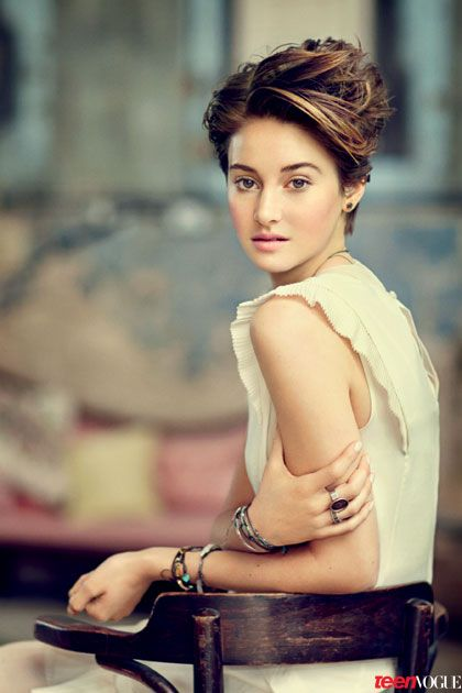 'Divergent' Star Shailene Woodley Talks On-Set Hookups and Advice from Jennifer Lawrence and George Clooney