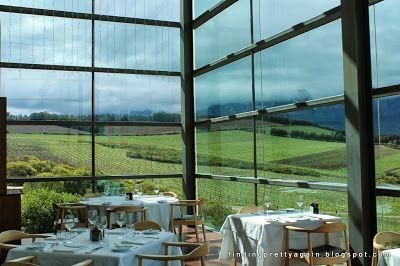 Restaurant with a view......Waterkloof Wine Estate, Somerset West