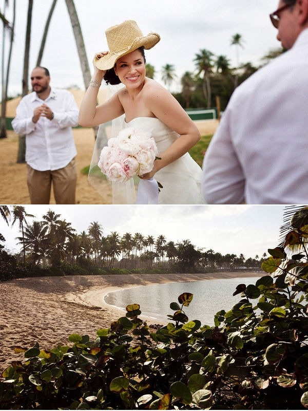 """Here is another Puerto Rico Wedding that is a little more """"beach"""" centric - again vendors & venues at the bottom of the post."""