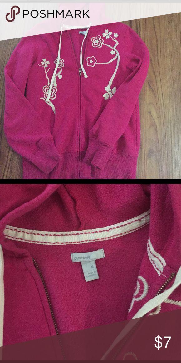 Old navy zip up hoodie Size medium. Good condition Old Navy Jackets & Coats
