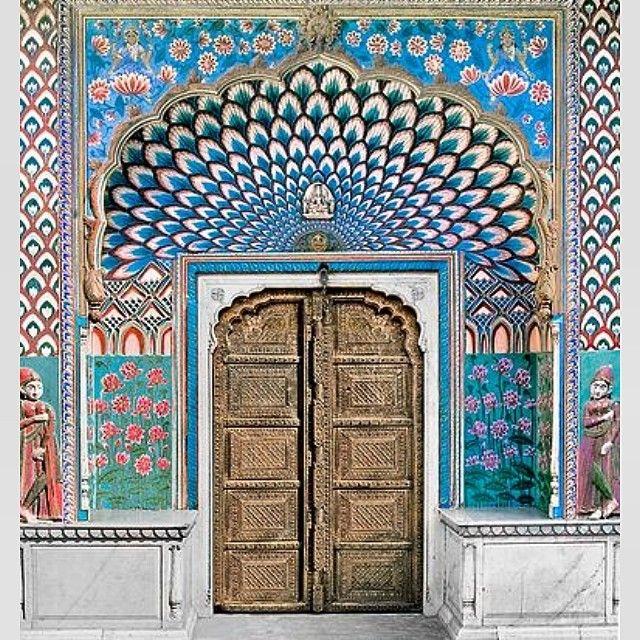 Door of Shiva   jaipur   india   tigerlily swimwear